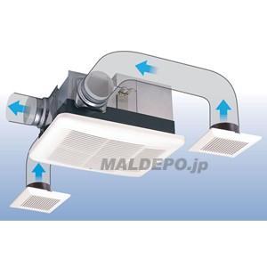 浴室換気乾燥暖房機(天井タイプ/3室換気タイプ) BF-533SHD 高須産業(TKC)|oasis-happylife