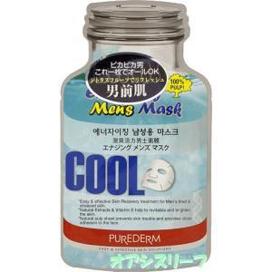 ピュアダム   【PUREDERM】 化粧水・乳液・クリームもいらない エナジング メンズマスク 18ml|oasis-leaf