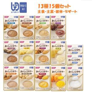 おいしくミキサー 人気メニュー13種15個セット(介護食:区...