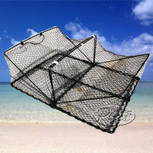手軽に捕れる カニカゴ 「角型」|oasisu