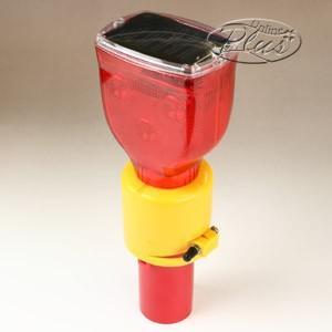 チェリーライト ソーラー赤LED点滅タイプ SCLT-R-02 SRC oasisu