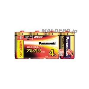 パナソニック アルカリ乾電池単1形 (4本入)|oasisu