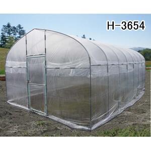 ビニールハウス 大型菜園ハウス H-3654型|oasisu