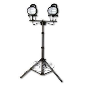 ハロゲンワークランプ(投光器) 500W2灯式 伸縮三脚スタンド付き CTW-502 EXCELLENT KOBO oasisu