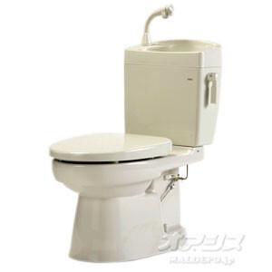 簡易水洗トイレ 手洗い付 ソフィアシリーズ FZ300-H07-PI|oasisu