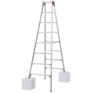 ハセガワ(長谷川工業) 伸縮脚立 ロングタイプ 8尺 RYZ1.0-24|oasisu