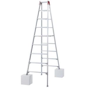 ハセガワ(長谷川工業) 伸縮脚立 ロングタイプ 9尺 RYZ1.0-27|oasisu