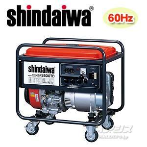 ガソリンエンジン発電機 60Hz専用 三相200V EGR5500TD-E 新ダイワ工業 oasisu