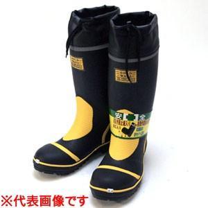 踏抜き防止板入り 安全長靴 GW-2000 ブラック 25.0cm|oasisu