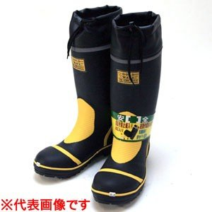 踏抜き防止板入り 安全長靴 GW-2000 ブラック 26.0cm|oasisu