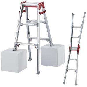 ハセガワ(長谷川工業) 伸縮脚立 はしご兼用ロングタイプ 3尺 RYZ1.0-09|oasisu