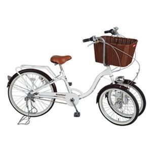 ミムゴ自転車 バスケット付き 三輪自転車 バンビーナ MG-CH243B|oasisu
