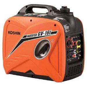 工進(KOSHIN) インバーター発電機 GV-16I 1600VA|oasisu