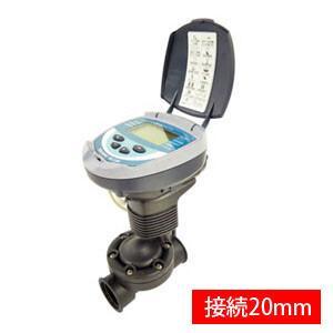 自動潅水タイマー スプリンクラーシンカー 接続口径20mm DC1SG(20mm) サンホープ 乾電...