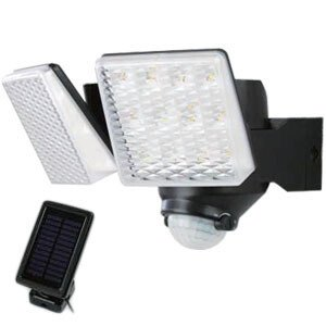 LEDソーラーセンサーライト 2灯式 DLS-7T200 DAISHIN(大進) oasisu