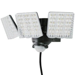 LEDセンサーライト 3灯式 コンセント式 DLA-7T300 DAISHIN(大進) 明るさ3000ルーメン oasisu