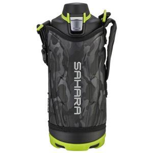 ステンレスボトル サハラクール 1.0L ブラック MME-E100KN タイガー魔法瓶 保冷専用・オートロック付き|oasisu