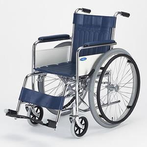 日進医療器 nissin wheelchair 介護用品 車いす 自走型 自走型車いす スチール製車...