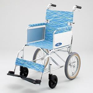 送料無料 日進医療器 nissin wheelchair 介護用品 車いす 介助型 介助型車いす 軽...