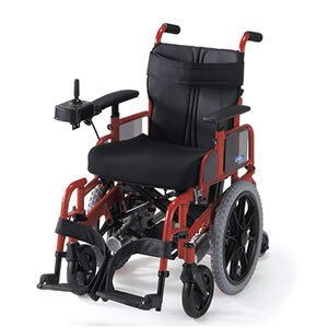 電動車いす 2分割コンパクト6輪電動車いす NEO-PR 日進医療器 【受注生産品】|oasisu