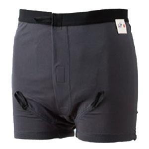 男性用紙おむつ(パッド)専用布パンツ ソ・フィットオープンスタイル ロングタイプ ニシキ|oasisu