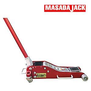 MASADA(マサダ製作所) 軽量アルミ製 手動式 2tジャッキ SJ-20AL|oasisu