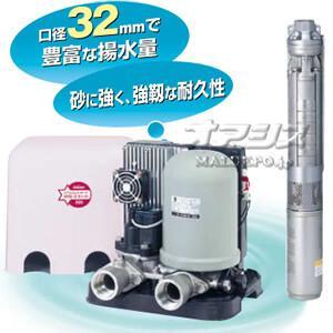 家庭用深井戸水中ポンプ カワエースディーパー UFL2-1100 川本ポンプ 三相200V|oasisu