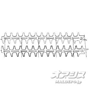 Tanaka(日立工機販売/旧日工タナカエンジニアリング) ヘッジトリマー THT-2100SB・TCH22EBP用 替刃セット|oasisu
