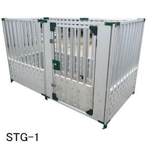 メタルテック ガルバ鋼板製 犬用サークルハウス STG-1|oasisu