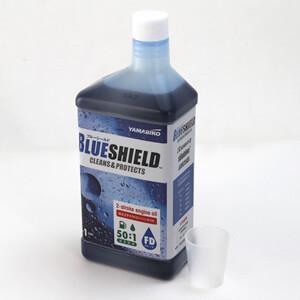 純正 2サイクル専用オイル(エンジンオイル) BLUE SHIELD やまびこ(YAMABIKO新ダイワ/共立) 50:1用 1L FD級|oasisu