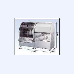 ゴミストッカーCKM-1200R型 連結タイプ (ステンレス製) ダイケン|oasisu