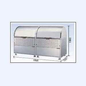 ゴミストッカー CKM-1800R型 連結タイプ(ステンレス製) ダイケン|oasisu