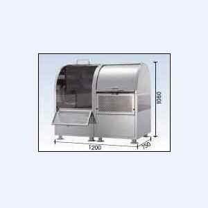 ゴミストッカー CKM-TN120R型 連結タイプ(21クロムステンレスタイプ) ダイケン|oasisu