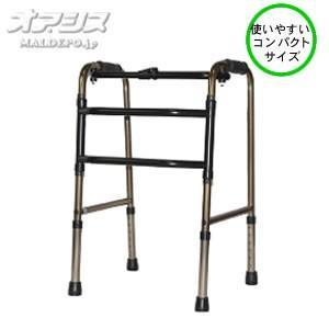 介護用品 移動用品 歩行補助 歩行用品 軽量 歩行器 w1203 コンパクト交互歩行器 C2023C...