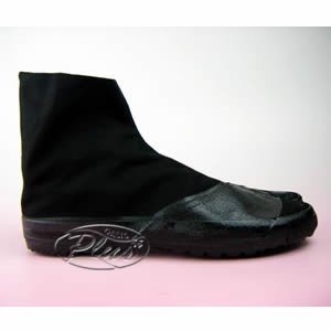 MoonStar 足袋靴 改良地下4枚A 黒 24.0cm|oasisu