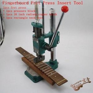 フレットプレス機 フレット交換 ギター修理 メンテナンス ネックレスト プレスカウル 16インチパー...