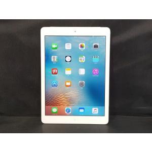 中古 Apple iPad Air MD794JA/A 16GB au Wi-Fi Cellular シルバー
