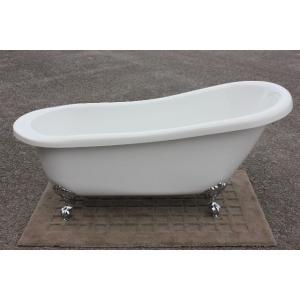猫足バスタブ 浴槽 バスタブ 浴槽 置き型 幅1680 猫足バスタブ ゴム栓タイプ KOA206G