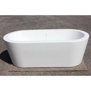 浴槽 バスタブ 1680幅 浴槽 バスタブ 置き型 お風呂 ゴム栓タイプ KOA336G
