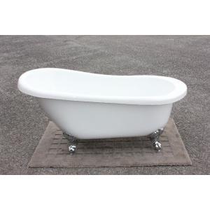猫足バスタブ 浴槽 バスタブ 浴槽 置き型 幅1570 猫足バスタブ ゴム栓タイプ KOA206-1570G