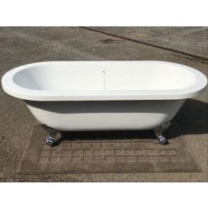 猫足バスタブ 浴槽 バスタブ 浴槽 置き型 幅1790 猫足バスタブ KOA208G ゴム栓式