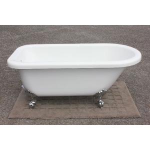 猫足バスタブ 浴槽 バスタブ 浴槽 置き型 幅1510 猫足バスタブ ゴム栓タイプ KOA223-1510G