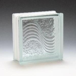 ガラスブロック サイズ 190×190×95 シーウエーブ|obara-jyusetu