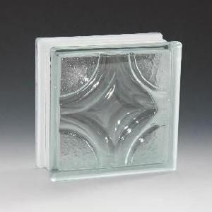 ガラスブロック サイズ 190×190×80 クリスタンティック|obara-jyusetu