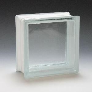 ガラスブロック サイズ 190×190×95 ダイレクトクリア|obara-jyusetu