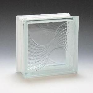ガラスブロック サイズ 190×190×80  カクテル|obara-jyusetu