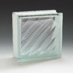 ガラスブロック サイズ 190×190×80 ディゴナ|obara-jyusetu