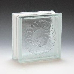 ガラスブロック サイズ 190×190×80 ノーチラス|obara-jyusetu