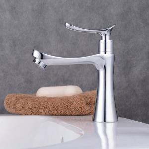 洗面水栓 単水栓 シングルレバー  水栓金具 洗面台用 蛇口 水栓|obara-jyusetu