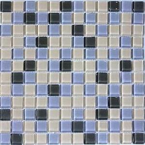 モザイクタイル ガラスモザイクタイル タイルシート20枚 キッチン|obara-jyusetu